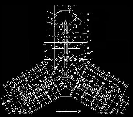 pile layout burj khalifa